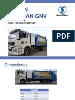 Descripción Shacman GNV
