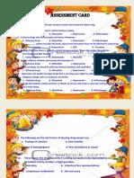 Assesstment Card.docx