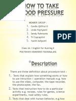 How to take blood pressure