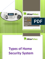 Types of Home Security System