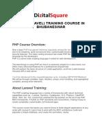 PHP Training in Bhubaneswar.