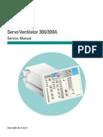 Siemens Servo 300-300A - Service Manual