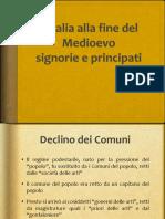 6 Signorie e Principati La-fine-Del-medioevo