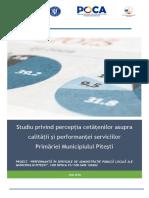 Studiu Privind Perceptia Cetatenilor Asupra Calitatii Si Performantei Serviciilor PMP