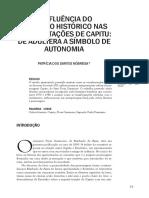 A INFLUÊNCIA DO CONTEXTO HISTÓRICO NAS INTERPRETAÇÕES DE CAPITU