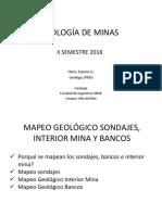 Clase 9_Mapeo Geologico Sondajes-Interior Mina-Bancos