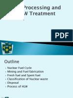 Fuel Processing & RAW