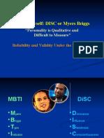 Disc vs Myers Briggs