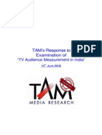 Survey Tam Peoplemeter Ratings