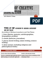 8 Types of CNF and Personal Essay Autosaved