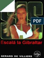 Gerard de Villiers - [SAS] - Escala La Gibraltar