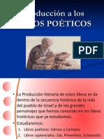 Introducción a los Libros Poéticos