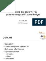 Atpg Low Power Ppt