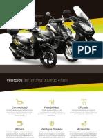 Ride on - Renting Largo Plazo 2019 - Alquiler de moto por meses