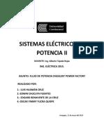 Informe Grupal de Flujo de Potencia (Huaman_yucra_chucuya_benavente