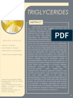 Final Review Article - Triglycerides