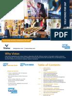 Vistex Solutions for SAP Booklet 2019