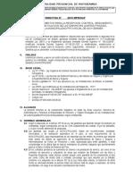 Directiva Cartas Finaza