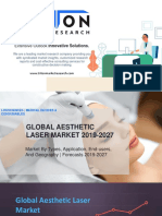 Aesthetic Laser Market Growth 2019-2027