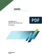 TPS2000B Digital Oscilloscope User Manual 077137901