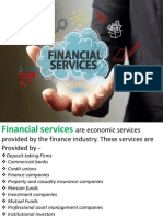 financial services ppt
