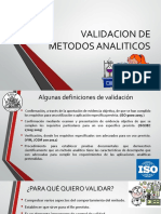 3. Resumen Validacion de Metodos Analiticos, Marzo 2017