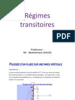 hydraulique 2 Régimes transitoires 2.pptx