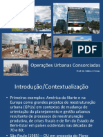Operações Urbanas Consorciadas
