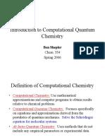 Intro QM Chem