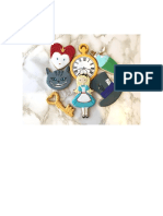 Galletas La Repu ALice in Wonderland