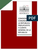 Comision de Presupuesto y Cuenta General de La Republica