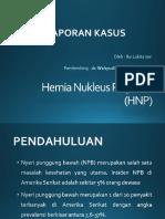 Hernia Nukleus Pulposus