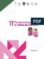 Tema del parlamento de niñas y niños la violencia