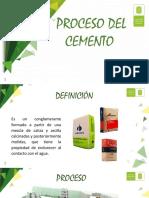 Proceso y Cifras Produccion de Cemento