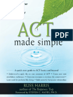 ACT Made Simple Dr. Russ Harris Preface