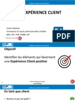 Gerer l experience client
