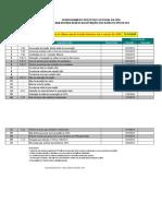 Cronograma da CIPA Atualizada