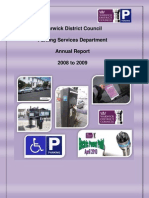 Warwick Annual Report 0809