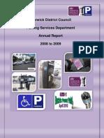 Warwick Annual Report 0809