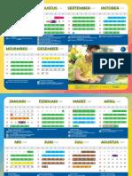 Calendar Akademik 2019 2020 Compressed