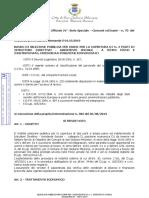 Avviso Selezione Pubblica Assistente Sociale 03.09.2019.Sangiuliano