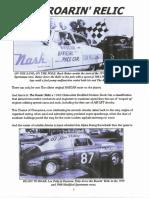 Griffin Motors Racing presents The Roarin' Relic