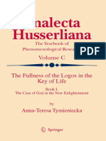 ANNA-TERESA TYMIENIECKA THE FULLNESS OF THE LOGOS IN THE KEY OF LIFE