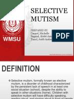 My Selective Mutism