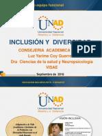 Capacitacion de Educacion Inclusiva Colegio Parroquial