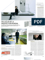 Dominical del Periódico de Catalunya - En la élite de la Arquitectura Mundial