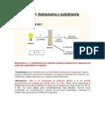 Nefolometria y Turbidimetria (2)