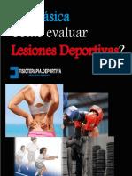 Lesiones deportivas evaluación