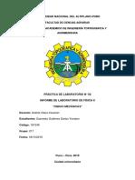 Informe de Laboratorio 2 Ondas Mecanicas