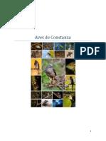 Aves de Constanza
